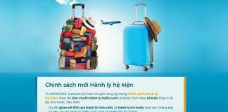 Vietnam Airlines thay đổi chính sách hành lý mới từ ngày 01/08