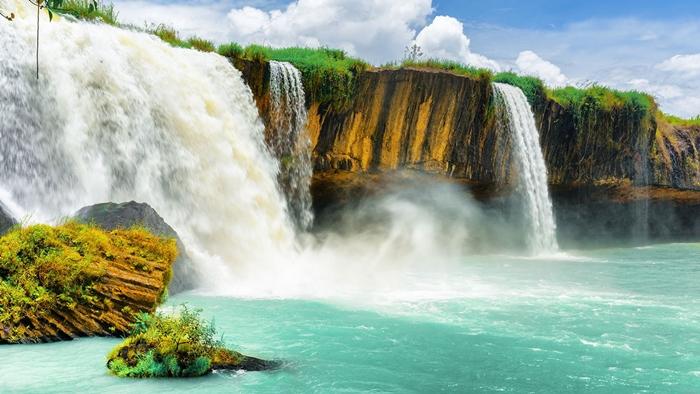 Du lịch Tây Nguyên tháng 10 quên ghé thác Dray Nur