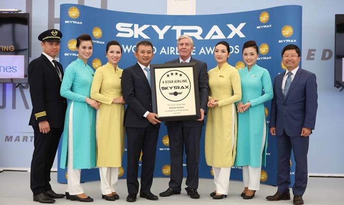 Những thành tích nổi bật của Vietnam Airlines