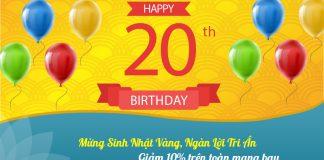 Vietnam Airlines mừng sinh nhật vàng khuyến mãi 10% giá vé