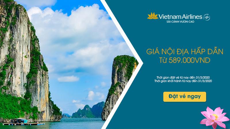 Du xuân cùng khuyến mãi Vietnam Airlines chỉ từ 199.000 VND