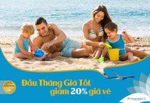 Săn khuyến mãi đầu tháng cùng Vietnam Airlines giảm đến 20%